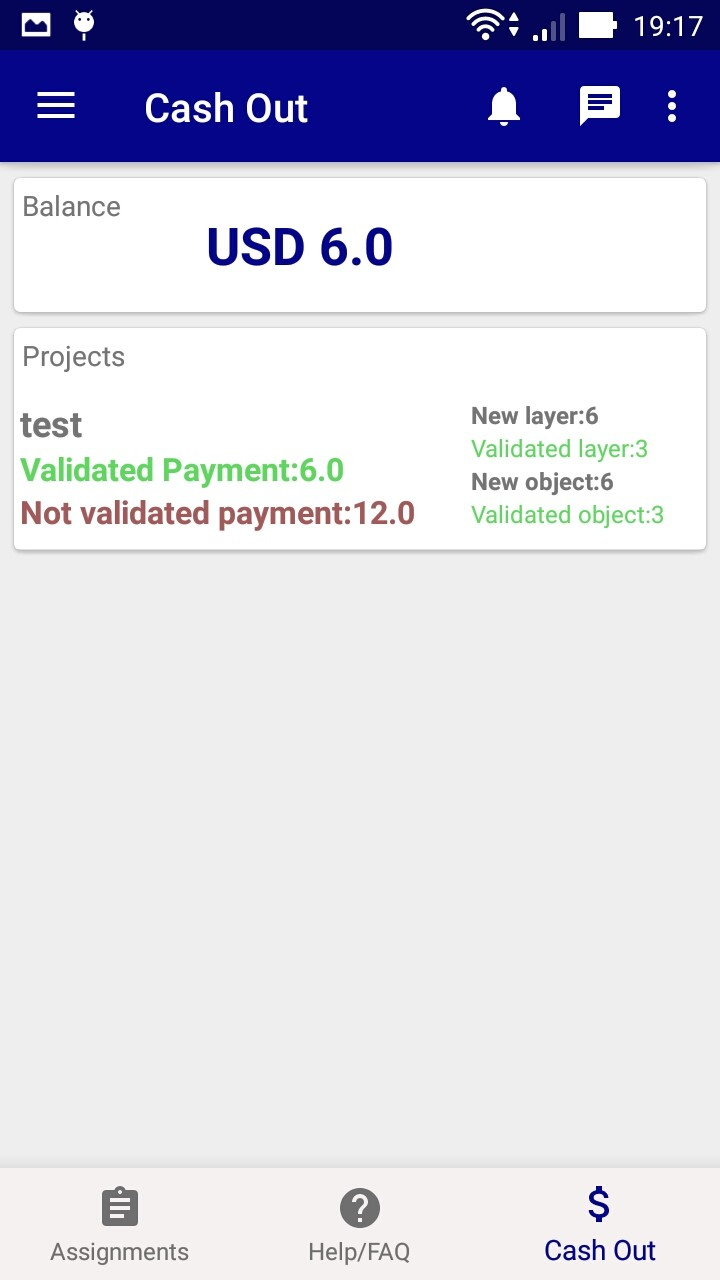 mobile wallet image annotation